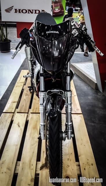 New Honda Sonic 150 Injeksi Saingan Satria FU 150 Siap Meluncur Setelah Lebaran