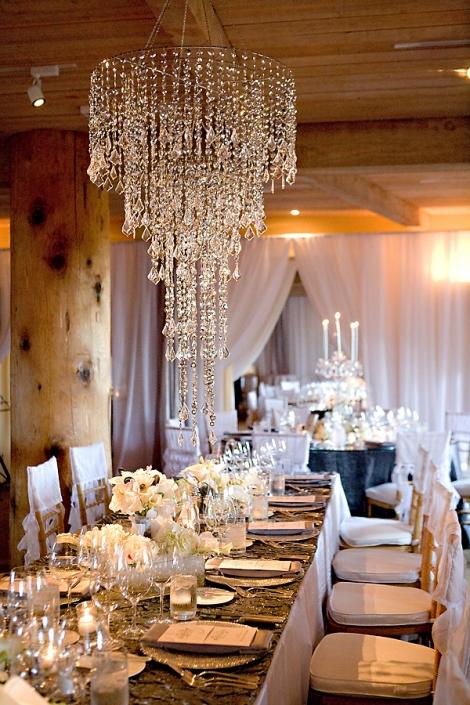 platinum touch events   decor ideas  chandeliers