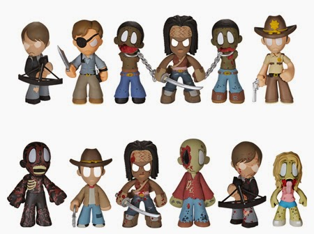 The Walking Dead Mystery Minis Blind Box Series 2 by Funko