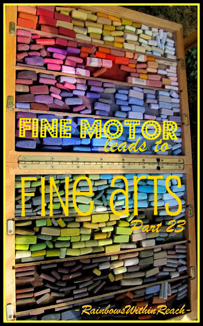 photo of: Fine Motor Leads to Fine Arts Part 23