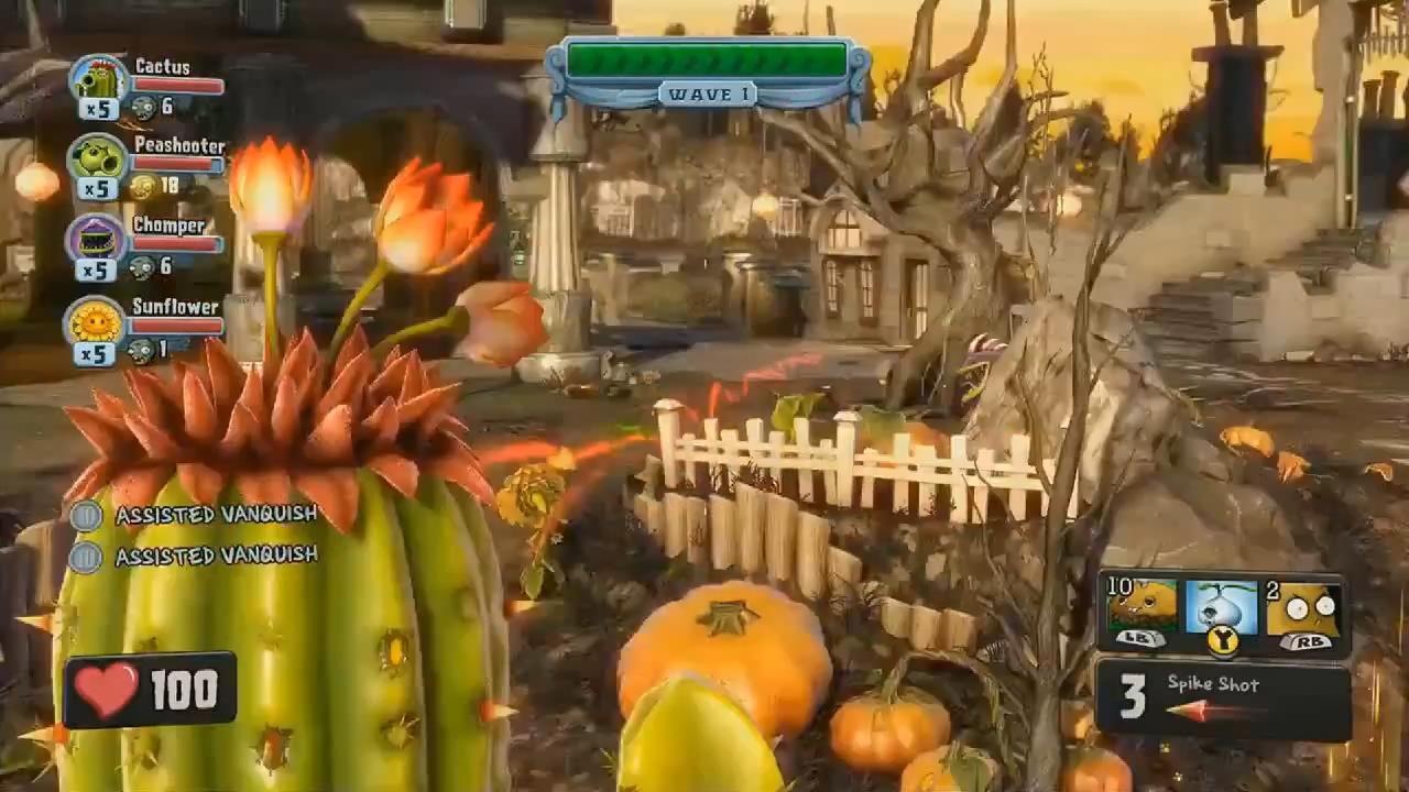 Live Your Life: [E3 2013] Plant vs Zombie: Garden Warfare - \