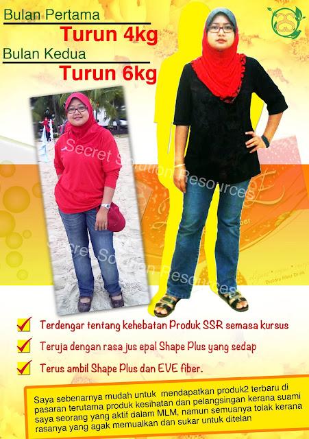 lost 10kg dlm masa 2 bulan!Anda pula?