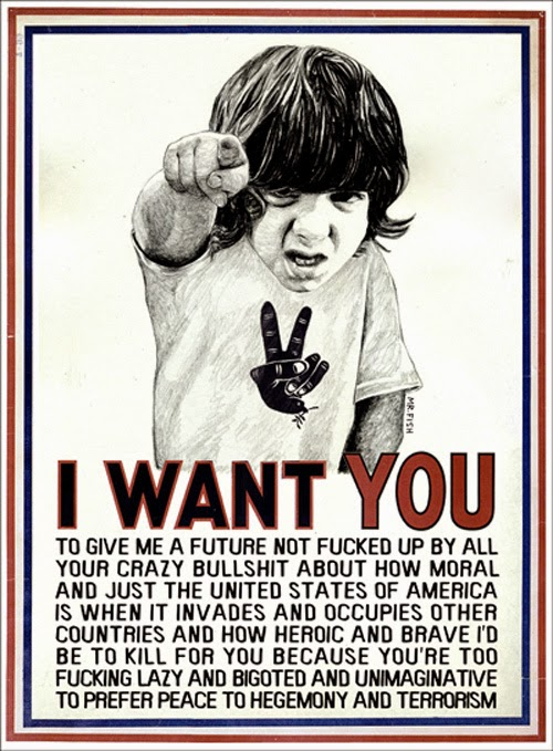 I Want You poster by Mr. Fish