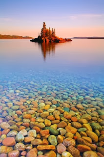 Sunset Island, Lake Superior