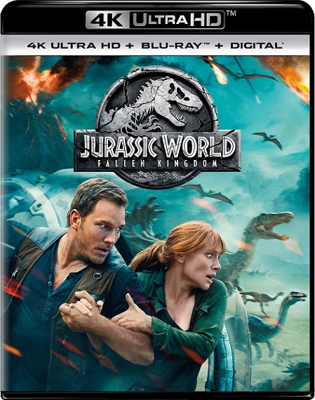 Jurassic World: Fallen Kingdom 4K (Jurassic World: El reino caído 4K) (2018) 2160p 4K UltraHD HDR BluRay REMUX 48GB mkv Dual Audio DTS-X 7.1 ch