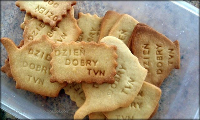 kruche ciasteczka, ciastka kruche, przepis na kruche ciasteczka, dzień dobry TVN