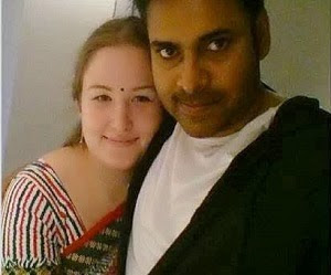 Pawan Kalyan and  Anna Lezhneva