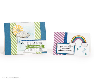 Rain or Shine CTMH Stamp Set Cards