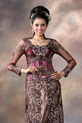 Kebaya Modern, Wedding Dress
