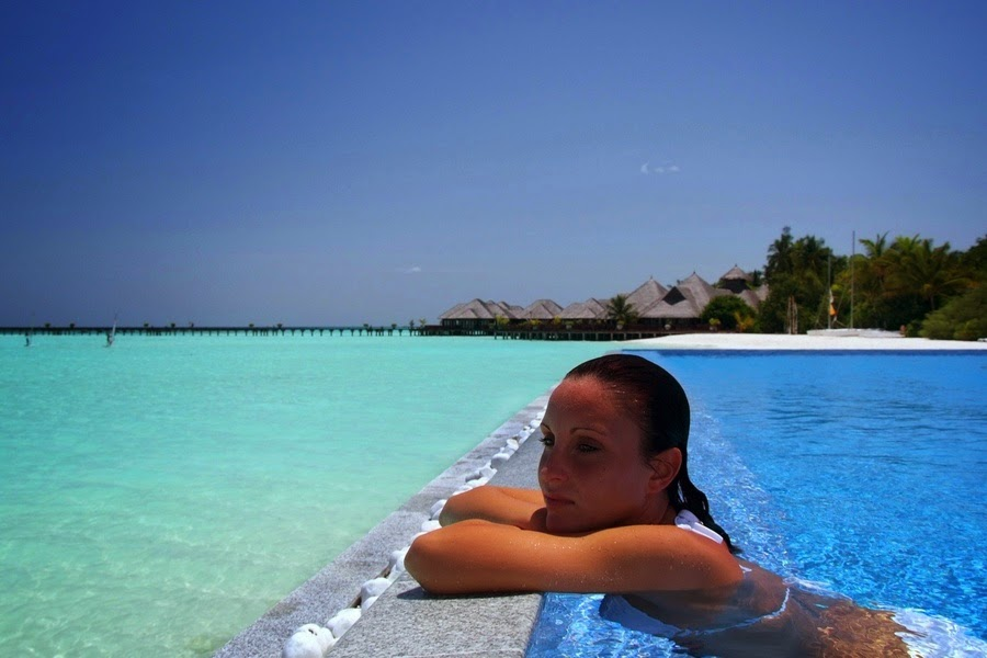Maldives Olhuveli Beach & Spa Resort 4 Nights For Two from AED 7950
