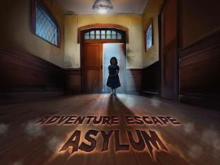 Screenshots of the Adventure escape: Asylum for Android tablet, phone.