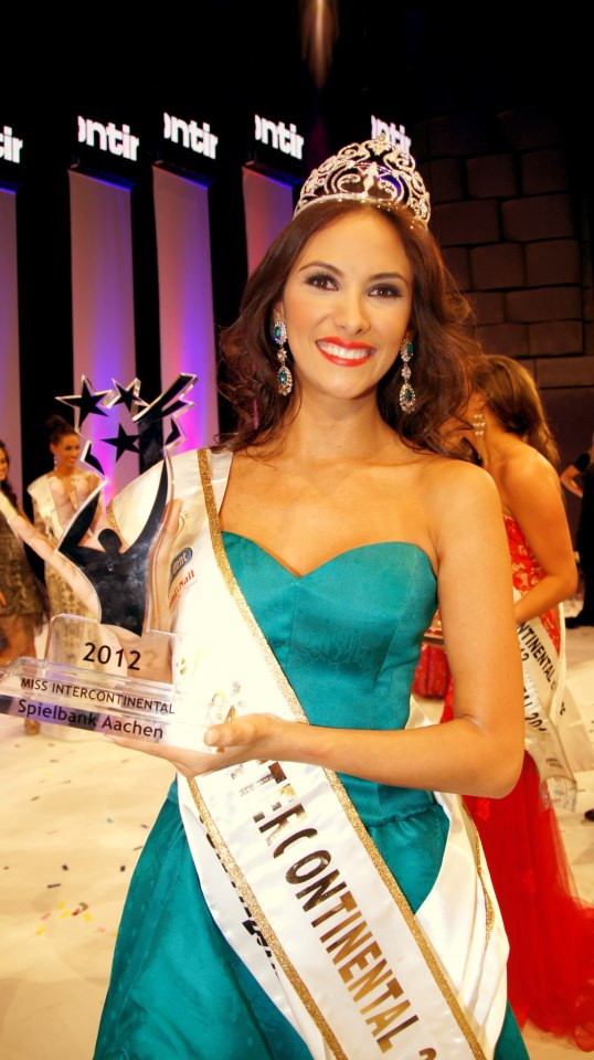 Miss Intercontinental 2012 winner Venezuela Daniela Chalbaud