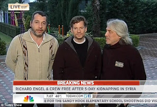 Richard Engel and Nbc team on report