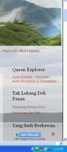 Citaten Quran Explorer : Komensen tutorial bagaimana mahu menggunakan perisian