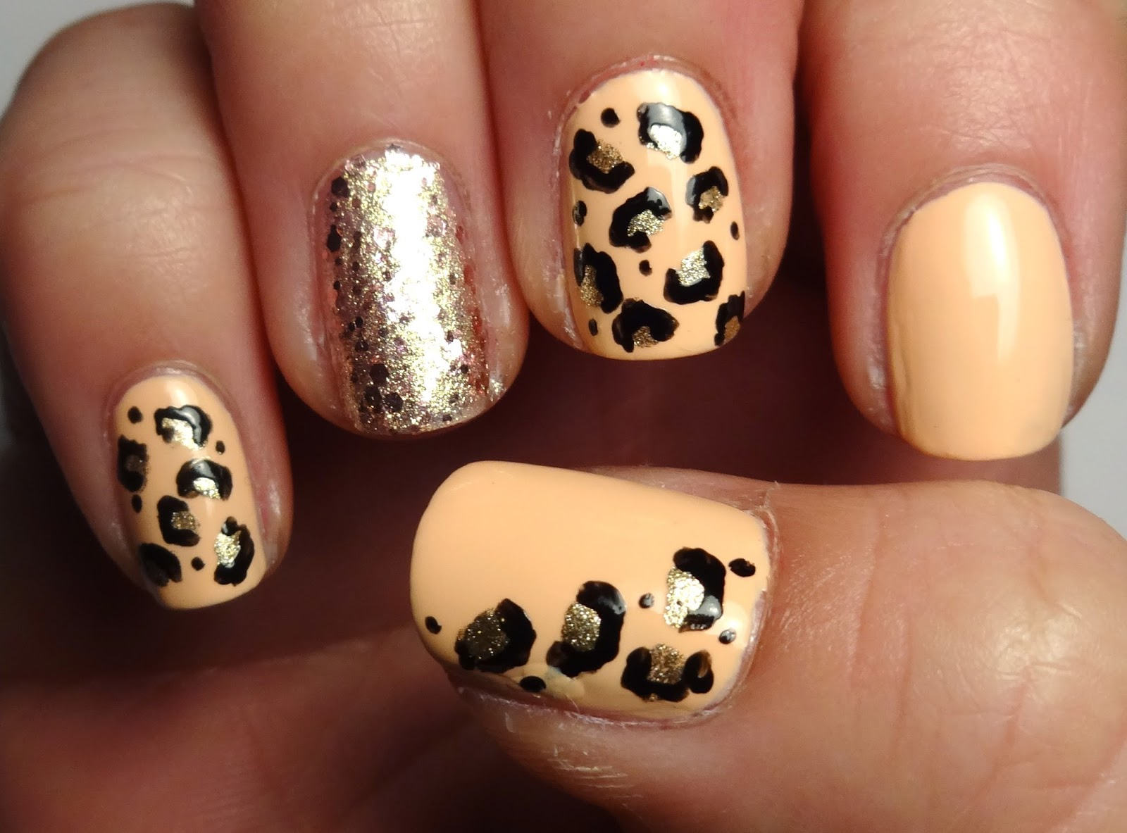 Leopard Print Nails Part 2