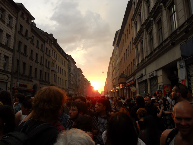 Kruezberg Berlin sunset