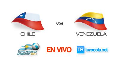 Ver Partido Chile vs Venezuela en VIVO