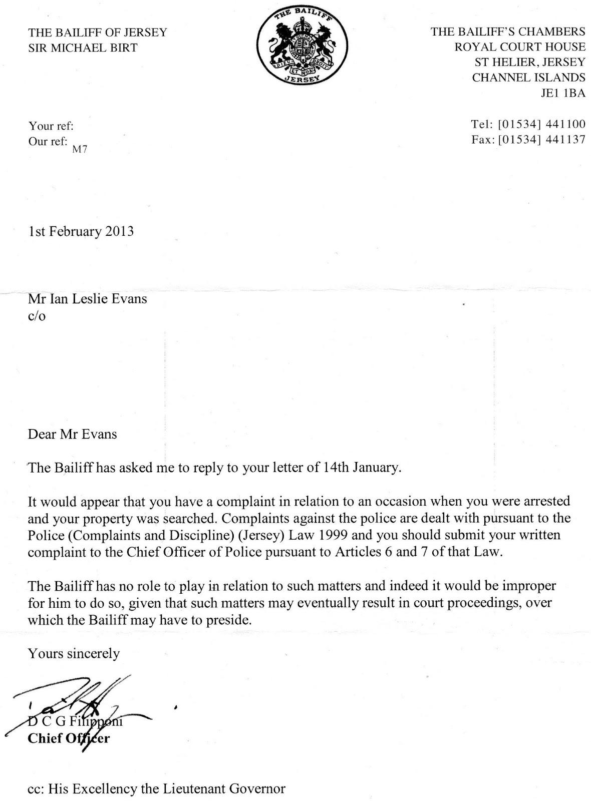complaint letter examples powerhit radiotk