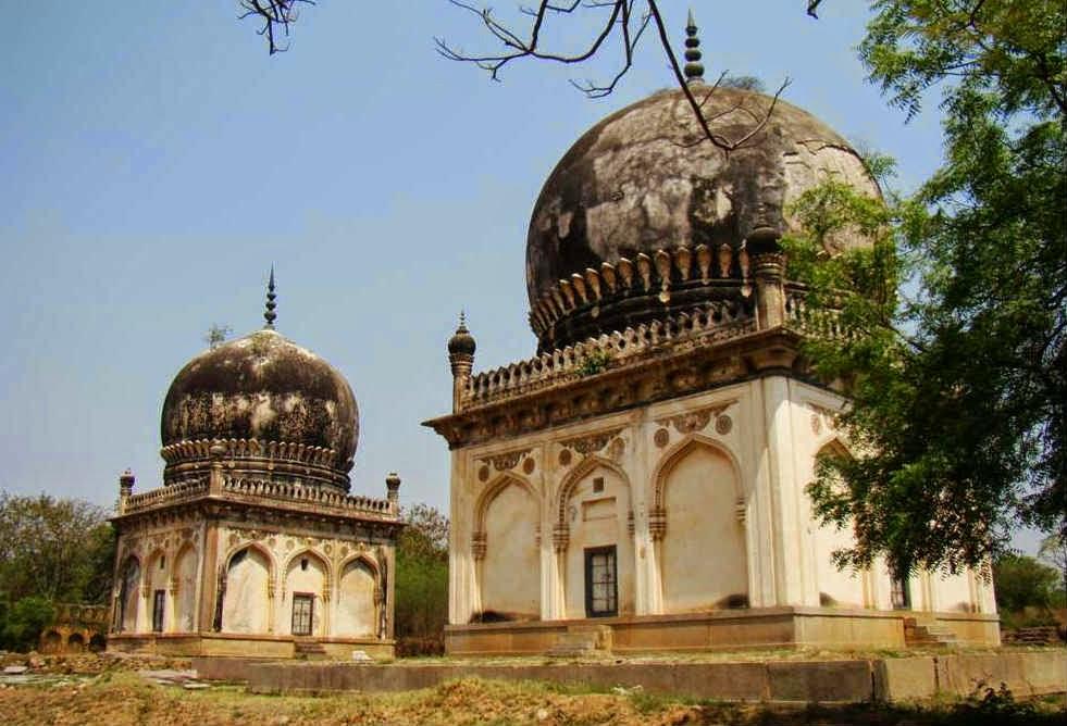 Twin tombs of the Taramati & Premamati among the royal tombs