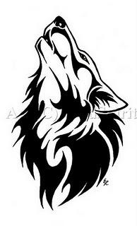Tatuagens Tribais de Lobo
