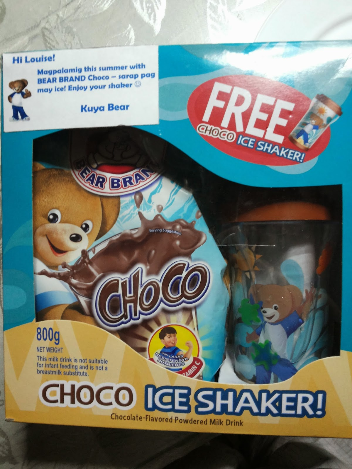 Bear Brand Choco With Ice