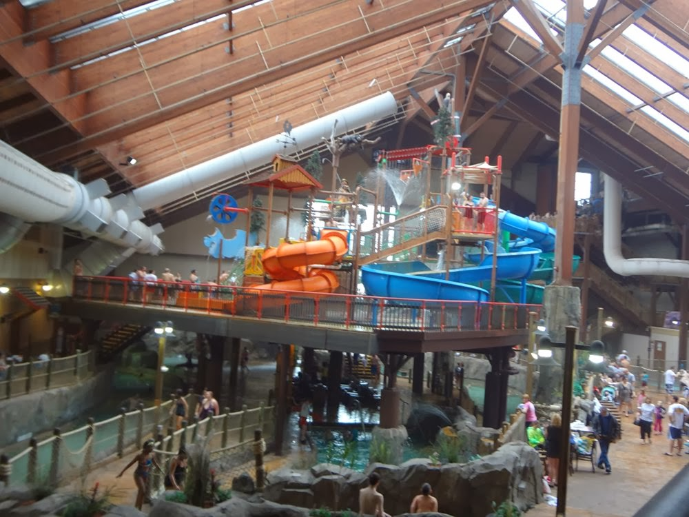 Indoor water park, Lake George NY