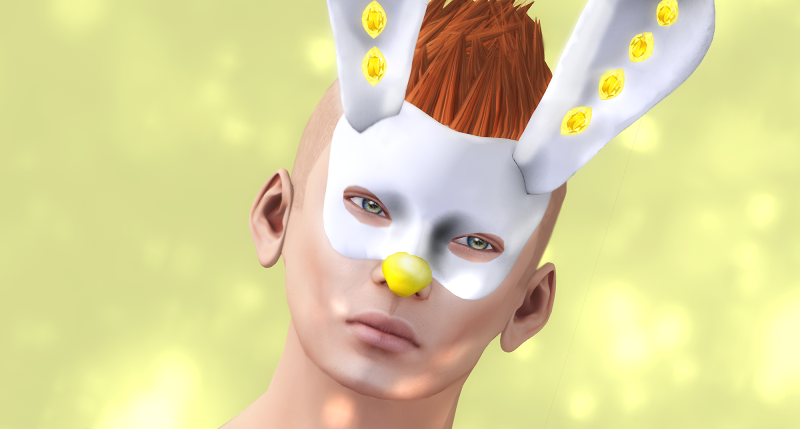 CHAMPAGNE SPARKLING COUTURE - EASTER BOY