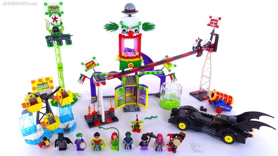 lego joker funhouse instructions