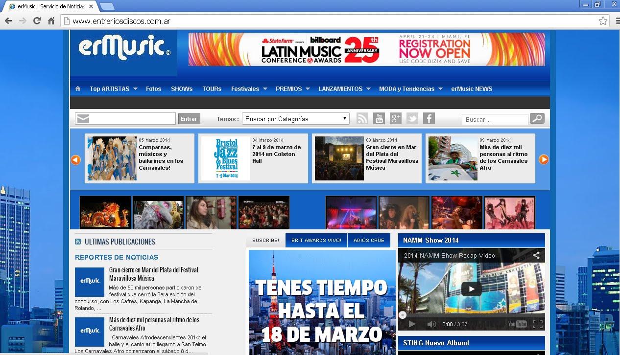 ERD Music News®