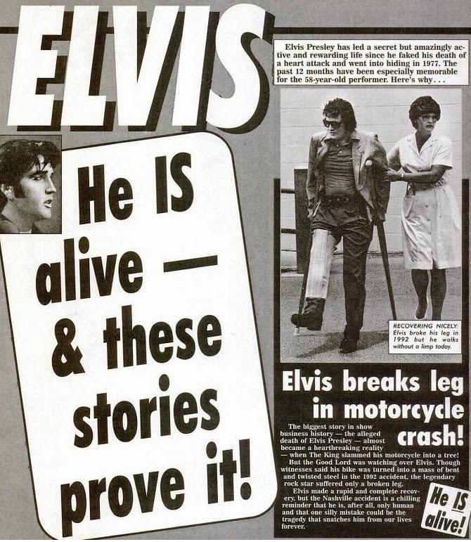 idolization of elvis presley after death