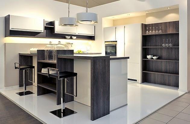 10 cocinas peque as en forma de u colores en casa - Cocinas en u modernas ...