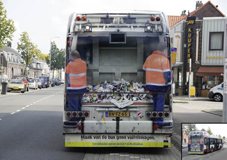 Que significa soñar con camión de basura