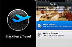 BlackBerry Travel app released by RIM