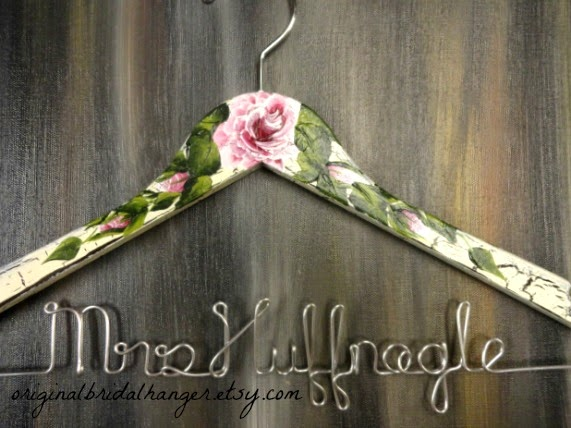 Wedding Dress Hangers 11 Marvelous My personalized hangers can