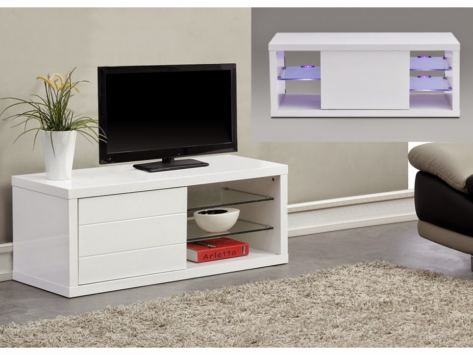 meuble tv avec porte coulissante meuble tv. Black Bedroom Furniture Sets. Home Design Ideas