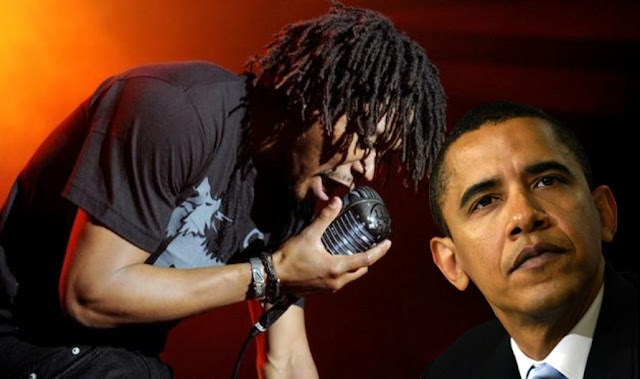 Lupe Fiasco Inauguration Offstage Anti Obama Rap