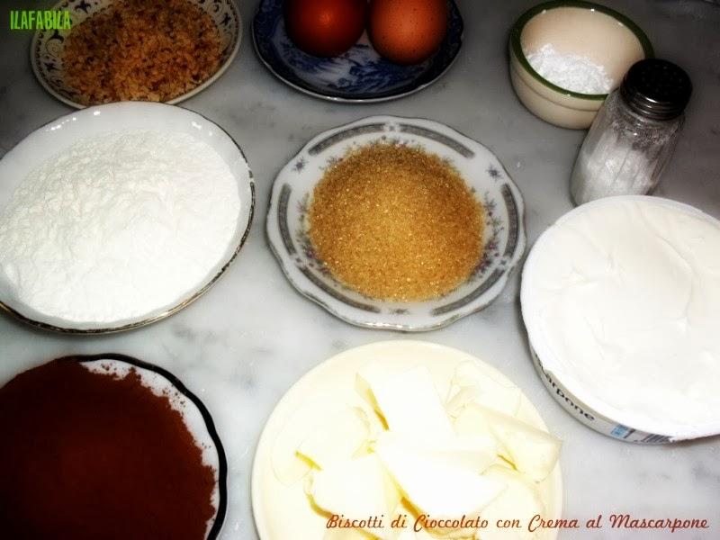 Biscotti al Cioccolato con Mascarpone