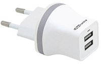 Buy Universal Portronics 2 Port/Dual USB Power Adapter-2.1 Amp charger Ebay offer for Rs. 185 :buytoearn