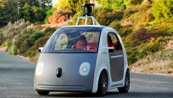 El coche electrico de Google con conducción automática