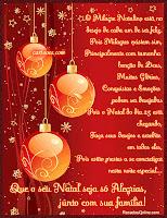 Cartão de Natal 2013: Modelos Grátis para imprimir - Vermelho