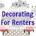 Decorating For Renters