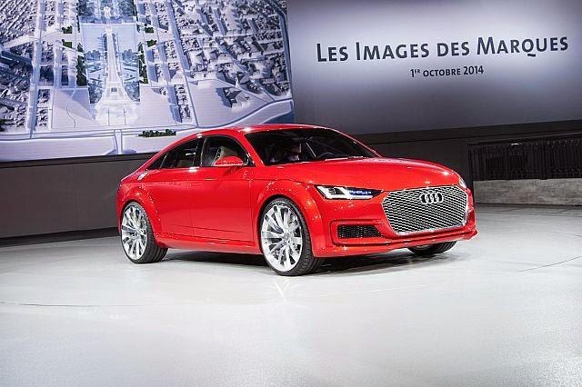 4 koltuklu, 400 beygirlik Audi...