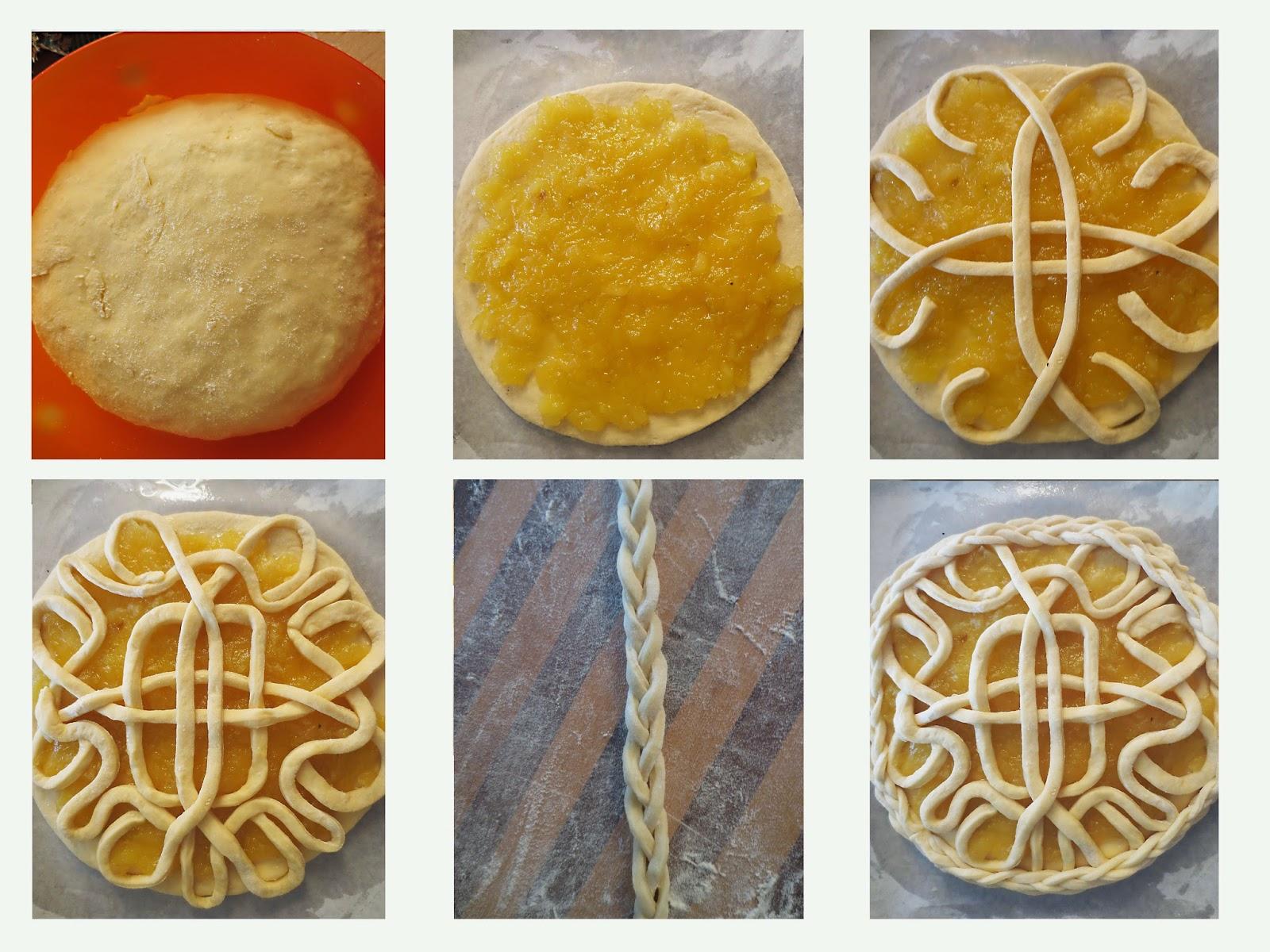 Форма пирожков из дрожжевого теста пошагово