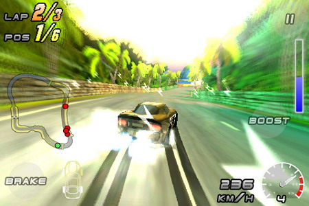 android boy raging thunder 2 3d on hvga 320x480 and