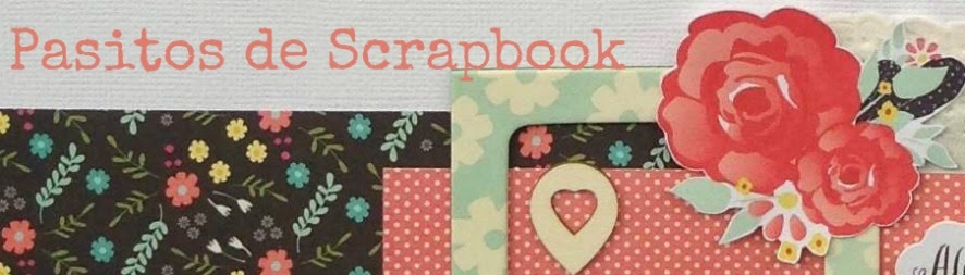 Pasitos de scrapbook