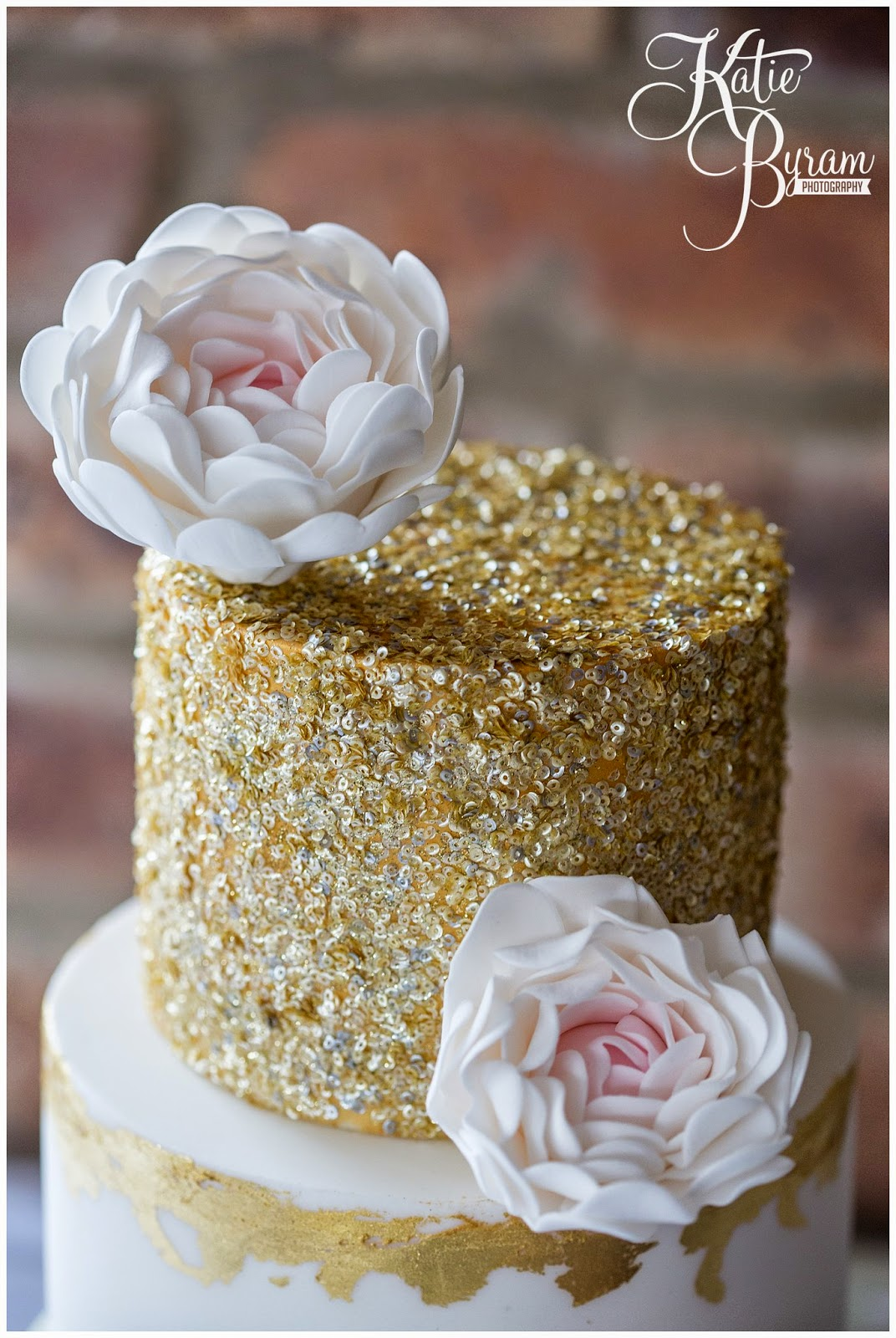 The Master Cakesmith Wedding Cake Shoot Floral and sparkles