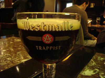 Tappist Beer Westmalle - tipsyterrier.blogspot.com