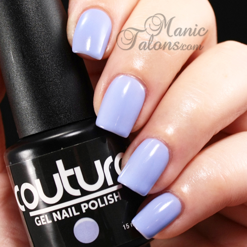 Couture Gel Polish Lavender Lace Swatch