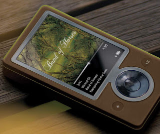 The first version of Zune player, Zune 30