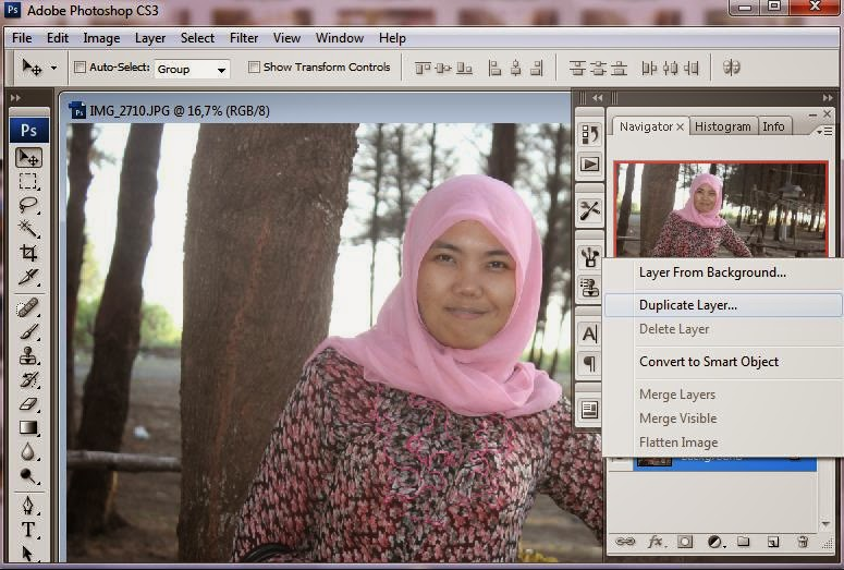 Edit Foto Photoshop